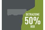 Box Detrazione 50% costi realizzazione